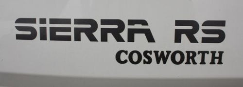FORD SIERRA RS COSWORTH REAR DECAL