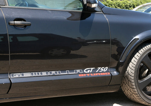 GEMBALLA BITURBO GT750 DECALS FOR PORSCHE CAYENNE