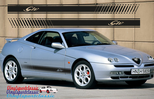 GTV SIDE STRIPES DECAL FOR ALFA ROMEO