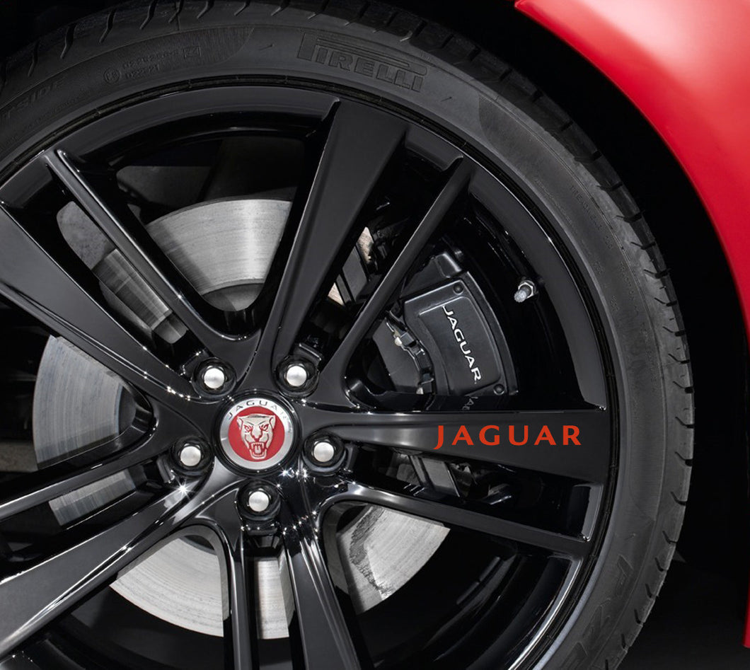 JAGUAR RIM DECAL SET