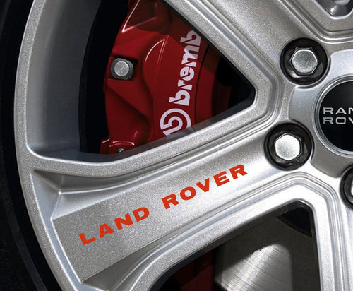 LAND ROVER RIM STICKER SET
