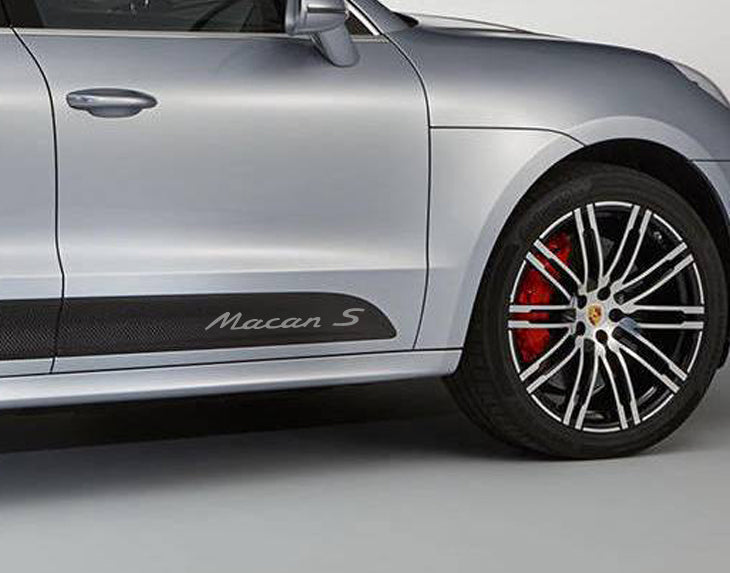 PORSCHE MACAN S DOOR DECAL SET