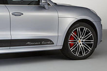 PORSCHE MACAN TURBO DOOR DECAL SET