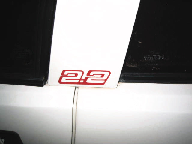2.2 STICKER FOR MATRA MURENA