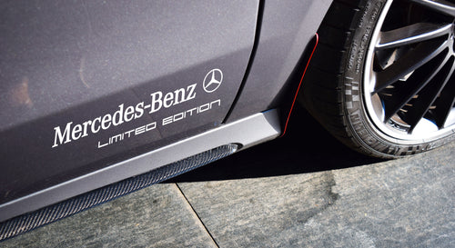 MERCEDES BENZ LIMITED EDITION STICKER