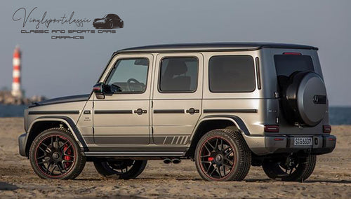 MERCEDES G 63 AMG SIDE STRIPES DECAL
