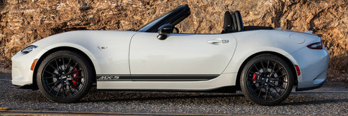MAZDA MX5 ND SIDE STRIPES DECAL