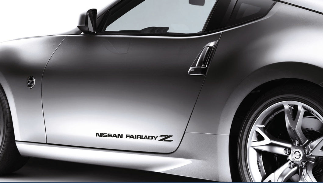 NISSAN FAIRLADY Z STICKER