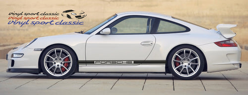 PORSCHE 996 997 991 992 CLASSIC SIDE STRIPES