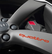 QUATTRO RIM STICKER SET FOR AUDI