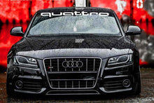 QUATTRO WINDSHIELD DECAL FOR YOUR AUDI ALL MODELS