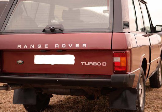RANGE ROVER CLASSIC TURBO D DECAL SET BADGE REPLACEMENT