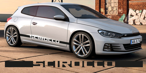 VOLKSWAGEN SCIROCCO SIDE STRIPES DECAL
