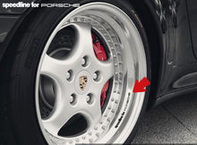 SPEEDLINE FOR PORSCHE RIM DECAL SET