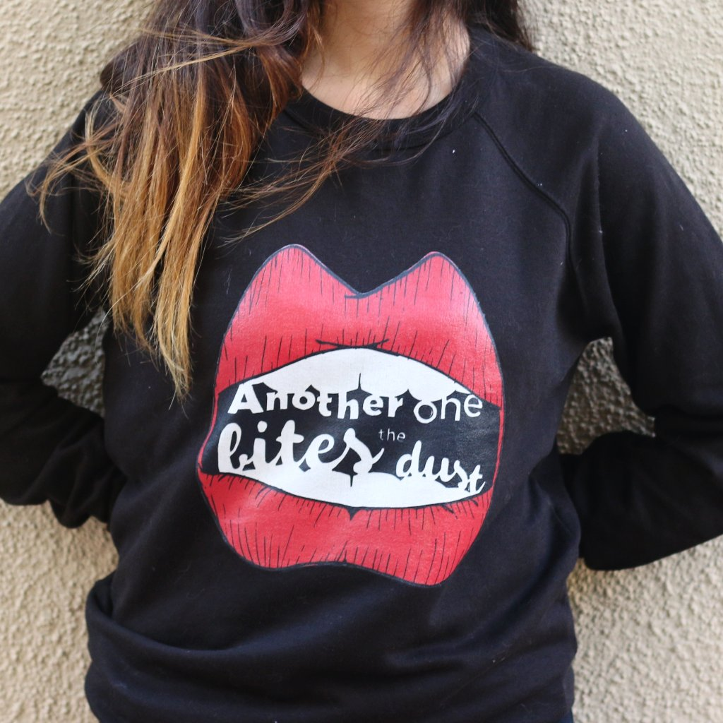 Another One Bites the Dust Unisex Sweater