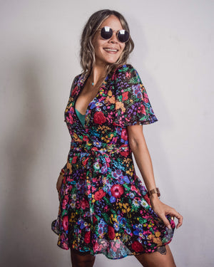 Funky Floral Dress