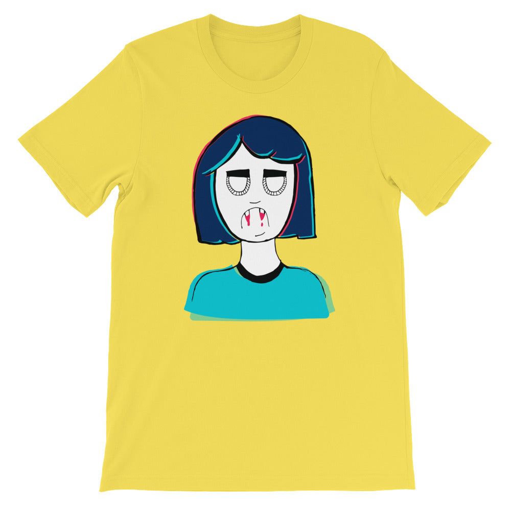 Vampire Girl Short-Sleeve Unisex T-Shirt