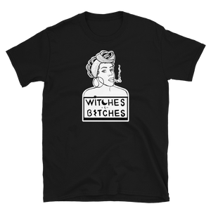 Witches & Bitches Unisex T-Shirt (Black)