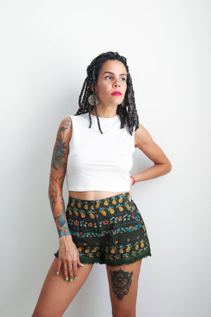 Party Pineapple Shorts