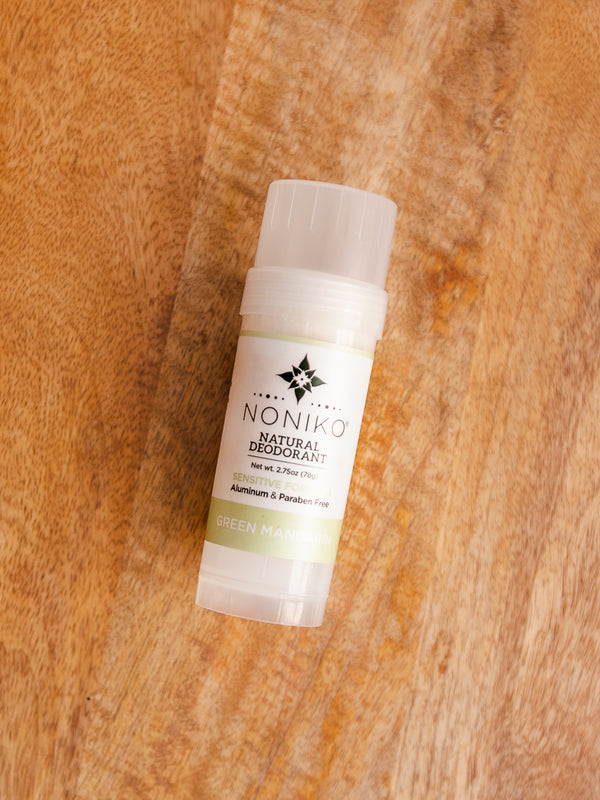 DRIFT: Green Mandarin Natural Deodorant (Baking Soda-Free)