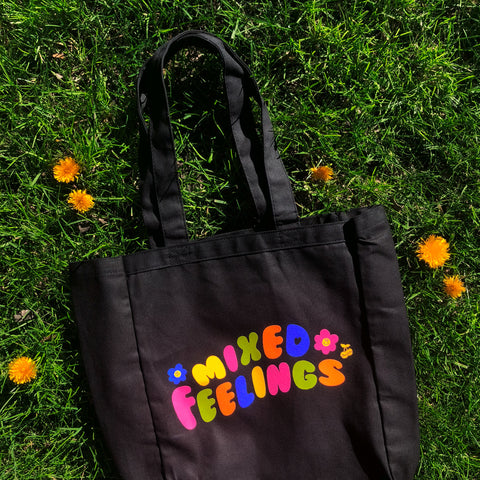 Mixed Feelings Tote Bag