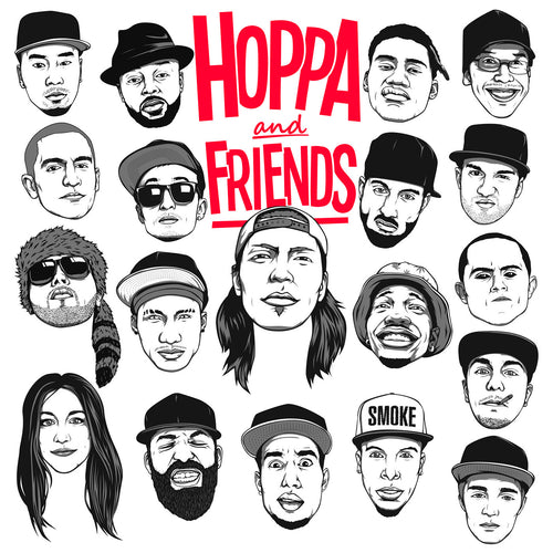 HOPPA AND FRIENDS (CD)