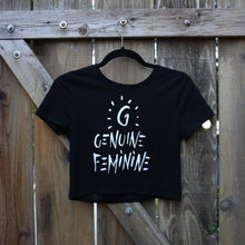 GENUINE FEMININE CROP TOP