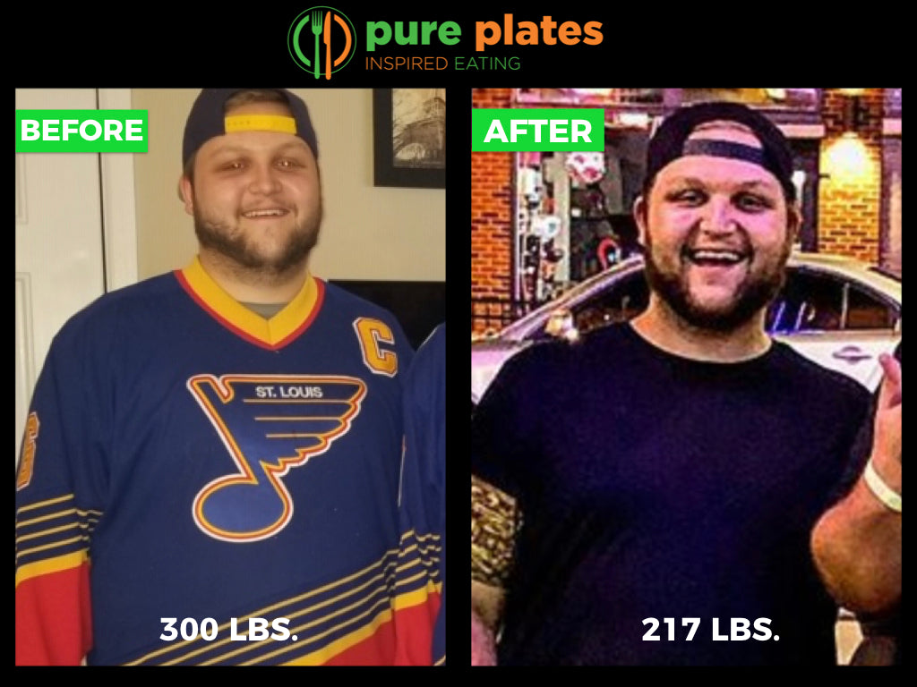 How Lee Lost 83 lbs. in 4 Months with Pure Plates