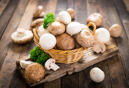 Foods to Combat the Flu - Mushrooms