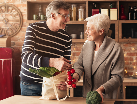 Grocery shopping and meal planning is time consuming for busy seniors