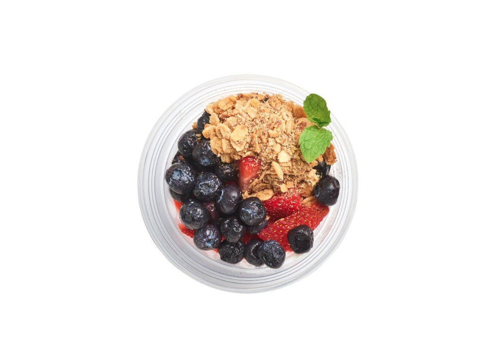 High Protein Parfait - Pure Plates Healthy Snacks. St. Louis clean eating for delivery or takeout