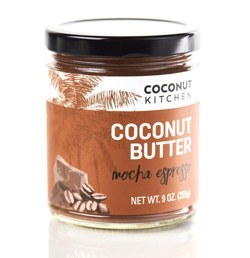 Organic Mocha Espresso Coconut Butter - Healthy Snacks for delivery or takeout