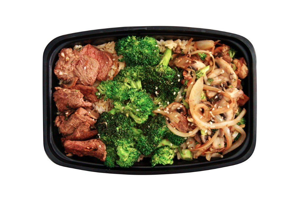Grass Fed Beef and Broccoli Stir Fry - Pure Plates Healthy Beef Dishes available for delivery or takeout in St. Louis