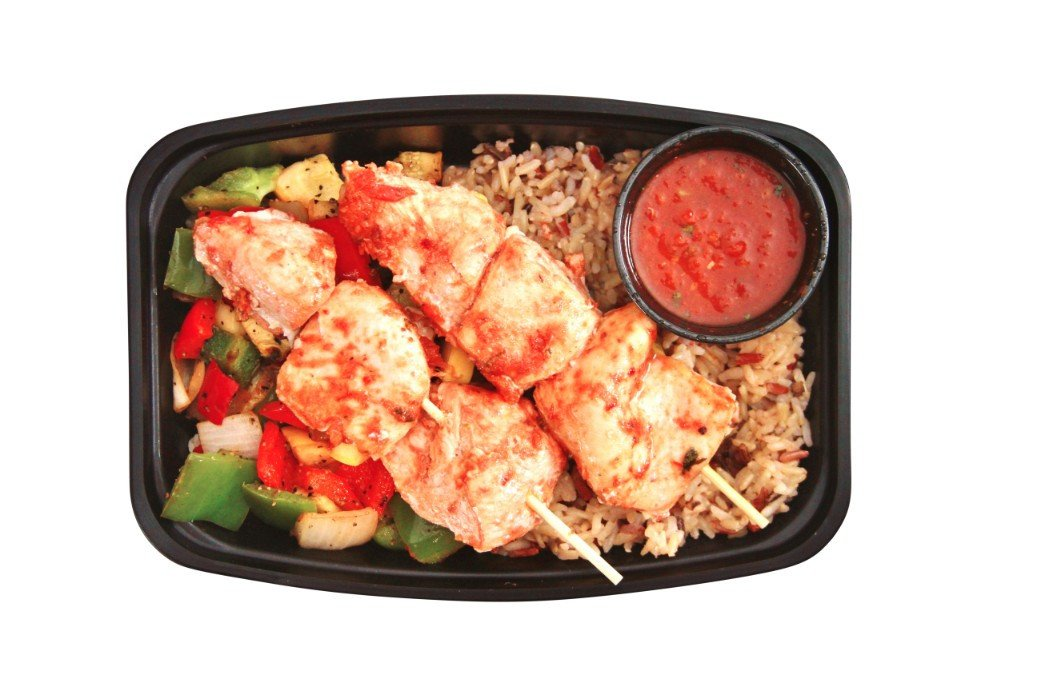 High Energy Chipotle Chicken Skewers - Pure Plates Healthy Chicken Meals. Delivery or Takeout meals in St. Louis