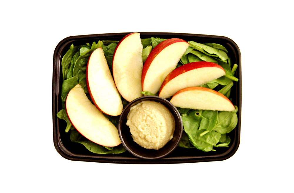 Healthy cashew butter with apples - Pure Plates Snacks in St. Louis