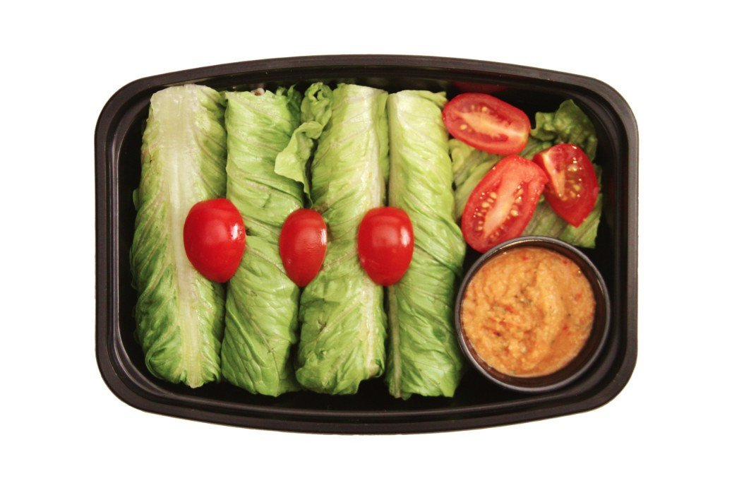 Turkey Lettuce Wraps - Healthy turkey dishes near me for delivery or takeout