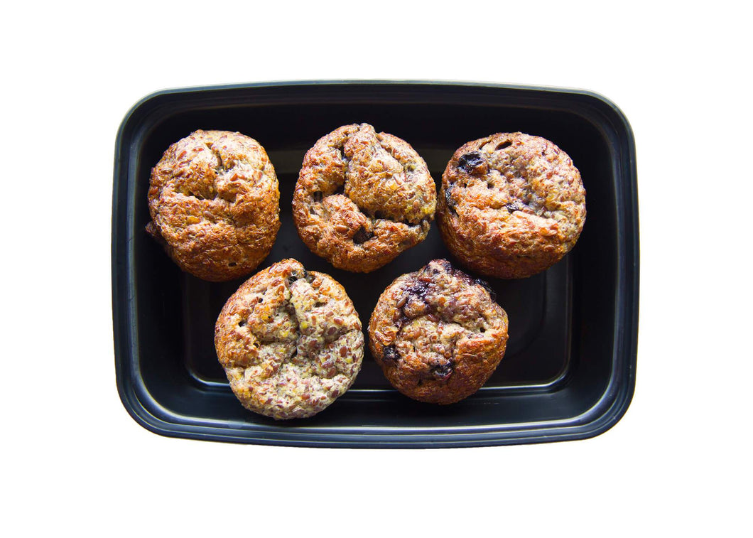 Blueberry Flax Muffins - Healthy snacks takeout or delivery in St. Louis
