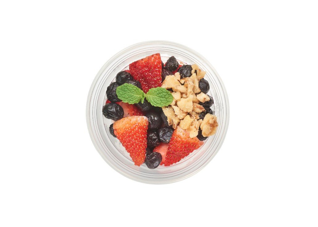 Greek Yogurt and Berries - Pure Plates Healthy Snacks for the St. Louis Area -- Delivery or Takeout available