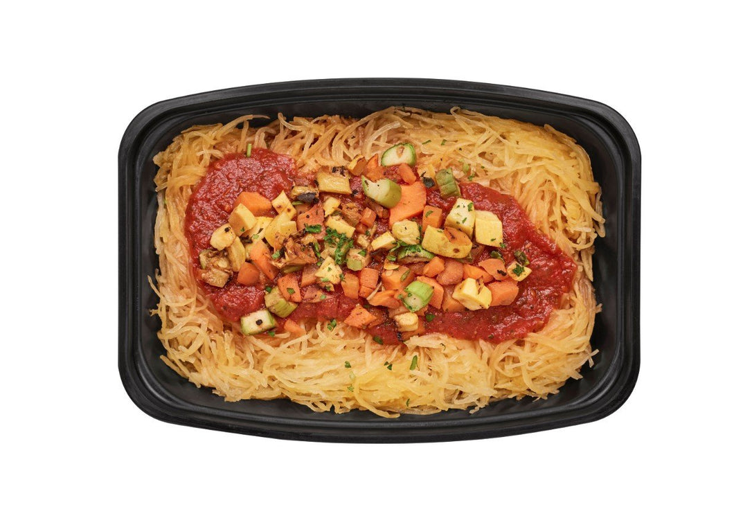 Spaghetti Squash Marinara with Roasted Veggies - Healthy vegetarian dishes for delivery / takeout near St. Louis MO