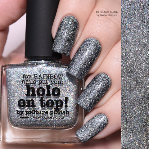 PICTURE POLISH Holo On Top!