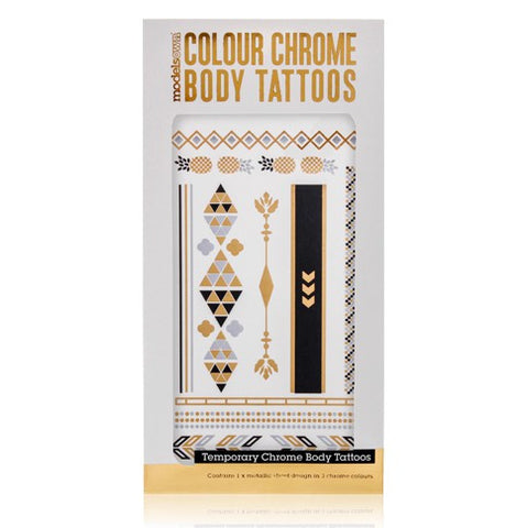 MODELS OWN Colour Chrome Body Tattoos