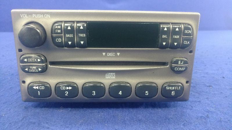 1996-2010 Crown Victoria Crown Vic Audio Equipment Radio Receiver AM-FM Stereo