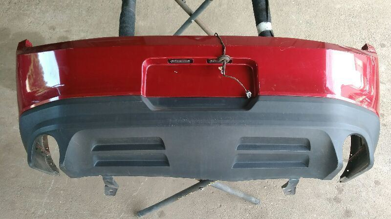 2010 2011 2012 Ford Mustang GT Rear Bumper Dual Exhaust Without Park Assist GT