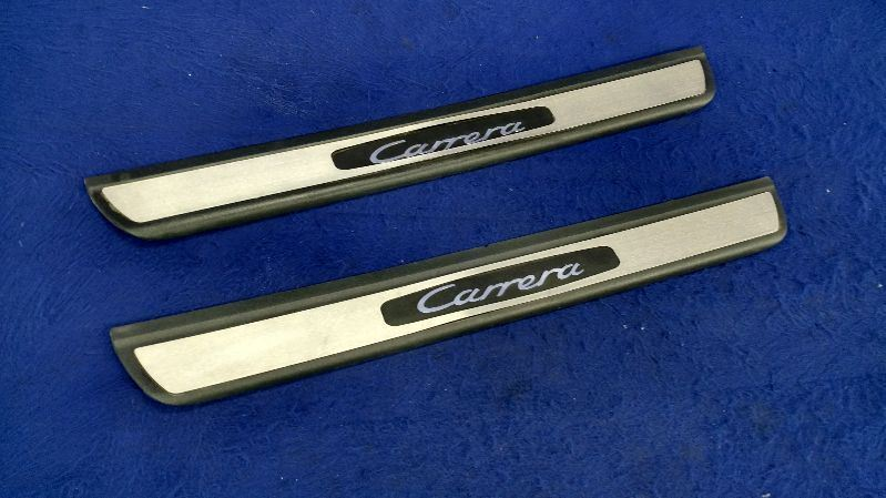 1999-2004 Porsche 911 996 2 Door Sills Scuff Plate Trim Pair Right Left