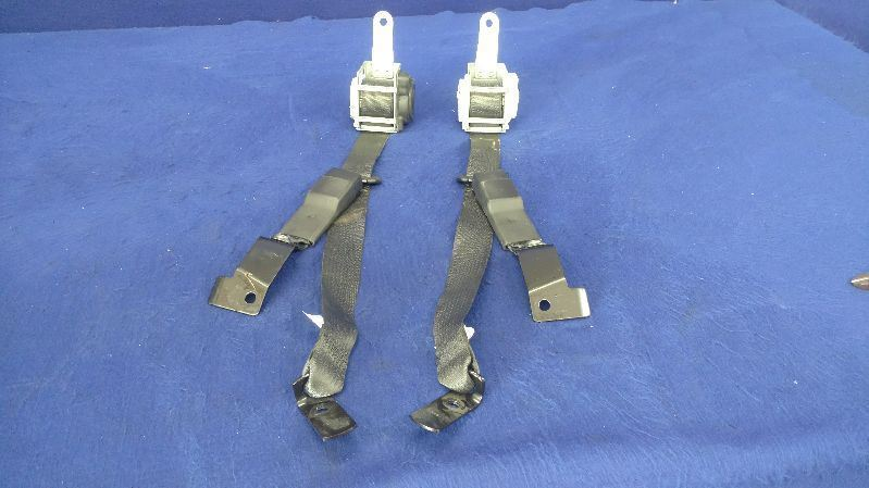 2009-2014 Cadilliac CTS-V Rear Left Right Seat Belt Pair Set Buckle OEM