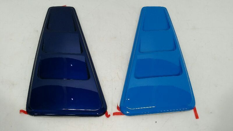 2011-2014 MUSTANG GT SIDE QUARTER WINDOW GLASS LOUVERS TRIM PANELS