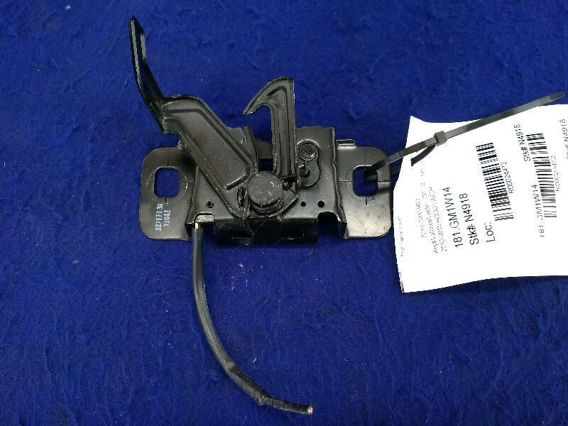 2010 2011 2012 2013 2014 2015 Chevy Camaro NTO Hood Latch Keys/Latches/Locks