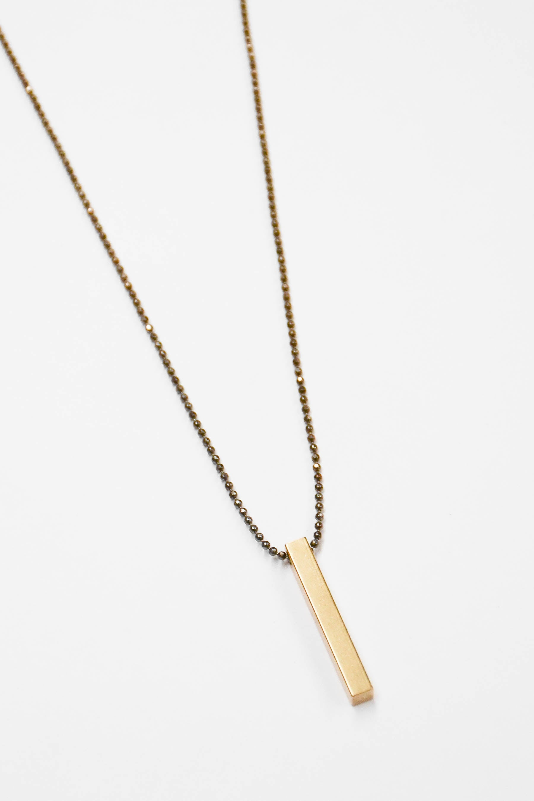 Santore Gold Bar Necklace