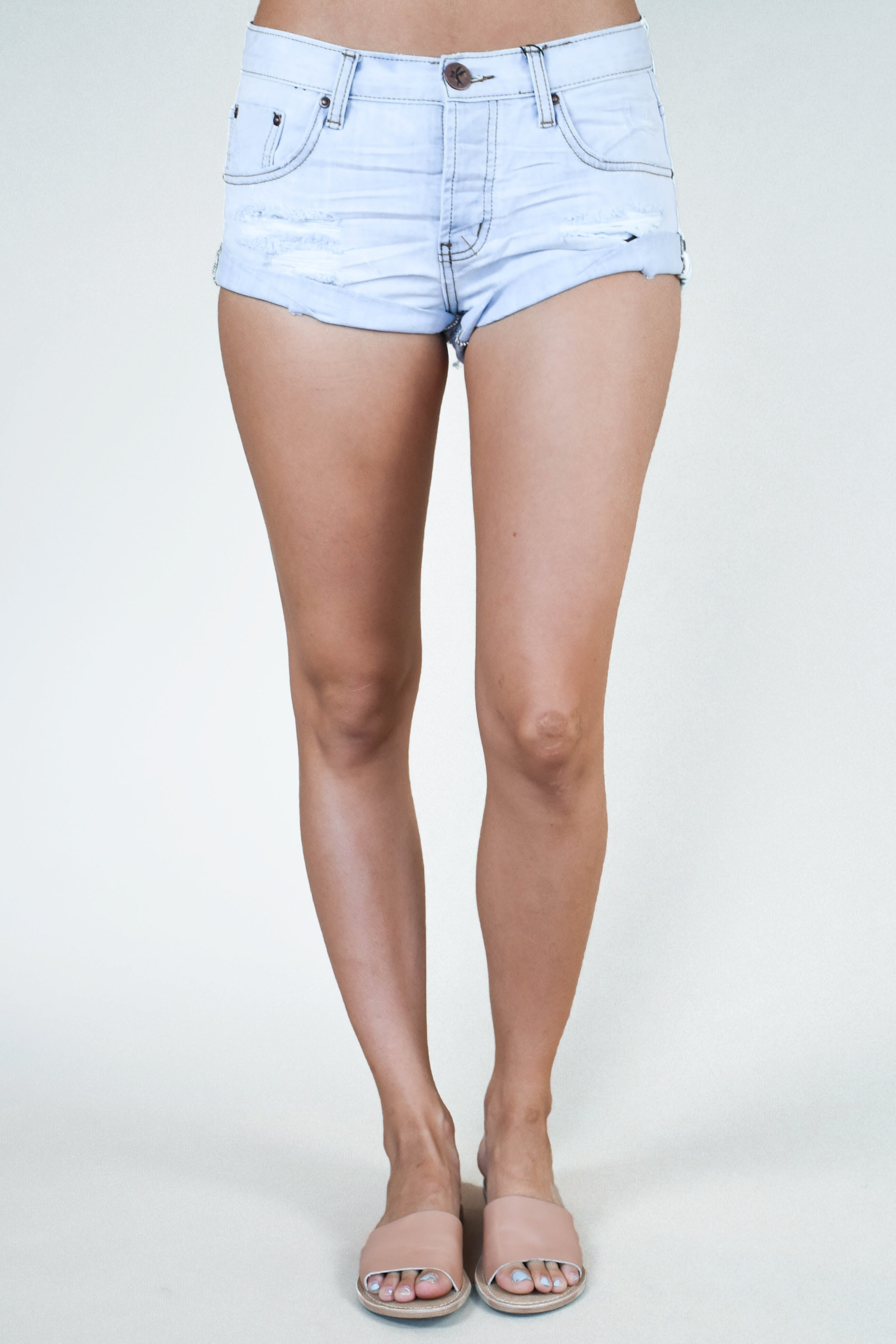 One Teaspoon Bandit Shorts (Hamptons)