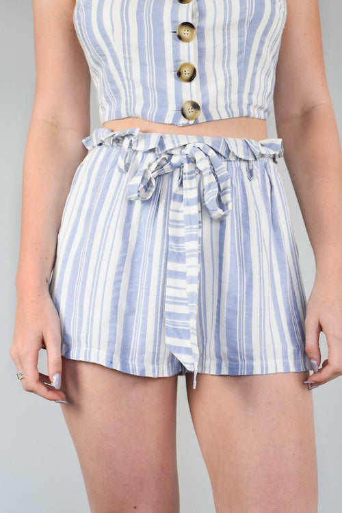 Camille Striped Shorts